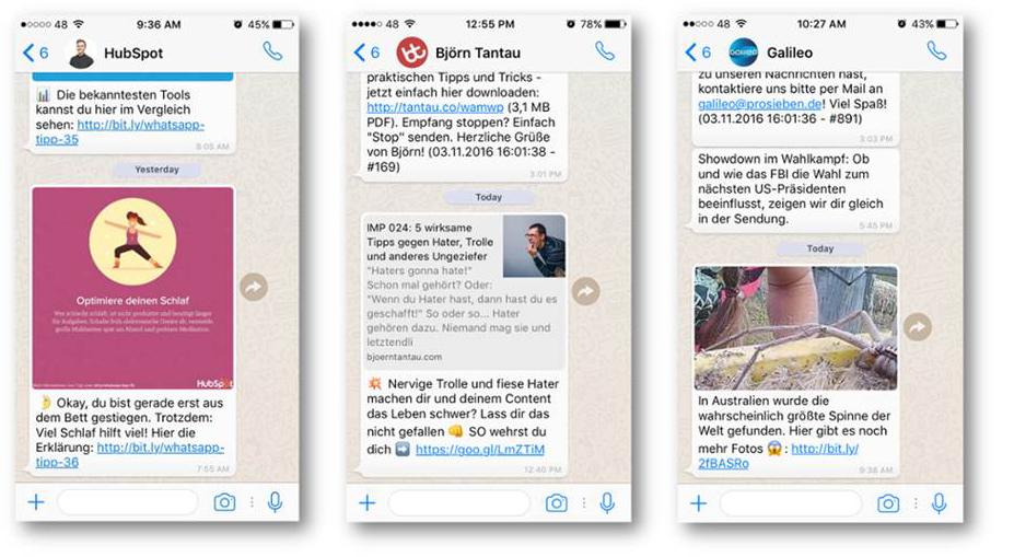 Nutzen Sie Whatsapp Auch Für Ihr Marketing Teil 2